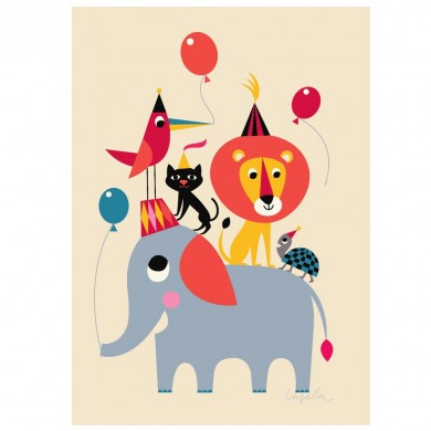 Animal Party af Ingela Arrhenius