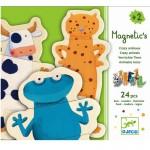 Djeco magneter - Skøre Dyr
