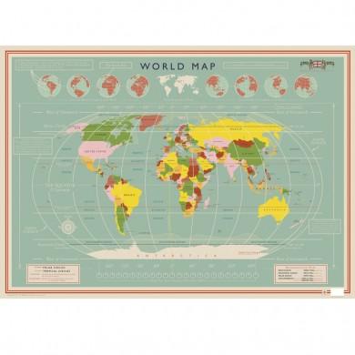 Plakat Verden