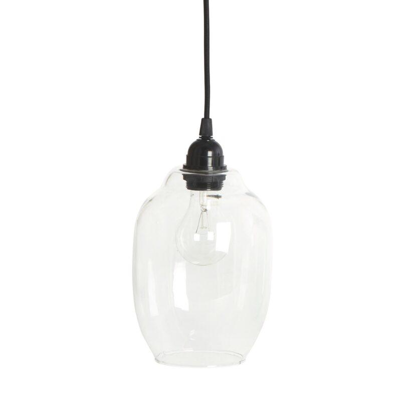 House Doctor - transparent glaslampe - DIA 14 cm