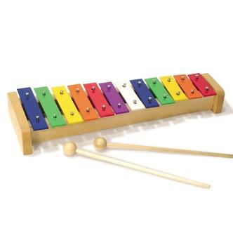 Rainbow Metal Xylophone Fra Vilac