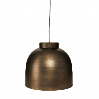 Lampe BOWL Gunmetal Fra House Doctor