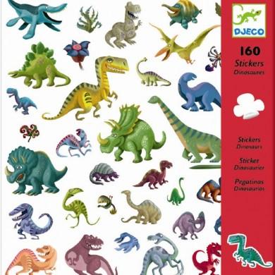 Klistermærker – Dinosaurer Fra Djeco