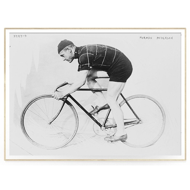 The Dybdahl Co. - Man And Bicycle - plakat