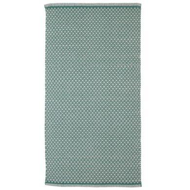 Gulvløber Design Rhombe Ocean Green Fra Aspegren
