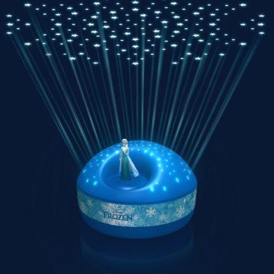 stjerne natlampe med Elsa