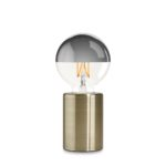 Bordlampe Med Touch Funktion - Messing