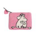 Klippan Håndfiltet Pung - Moomin Pink Love