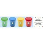 Djeco - Modellervoks - Primær farver