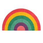 Dørmåtte - Regnbue - 70*40 cm