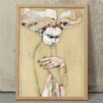 Madstitch - White Woman - fine art print