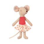 Maileg - Little Sister Mouse In Box