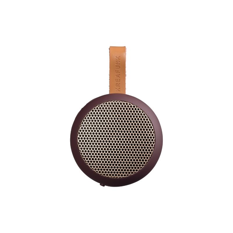 Kreafunk aGO Bluetooth-højtaler - Plum