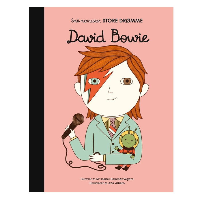 Forlaget Albert - Små Mennesker store Drømme - David Bowie