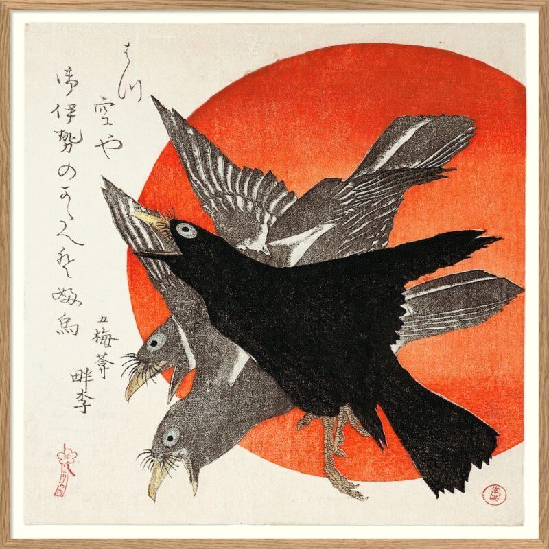 The Dybdahl Co. - Crows - 61*61 cm