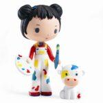 Djeco - Tinyly figur - Barbouille & Gribs