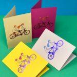 ARK Colour Design - Nudity Kort - Naked Cyclist