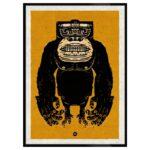 Martin J. - Gorilla - 50*70 cm