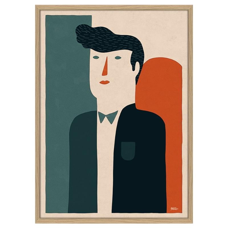 Martin J. - Suit - 30*40 cm
