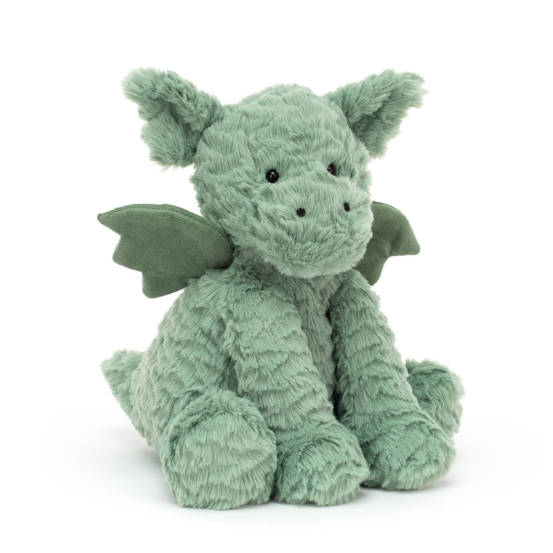 Jellycat - Fuddlewuddle drage - 23 cm