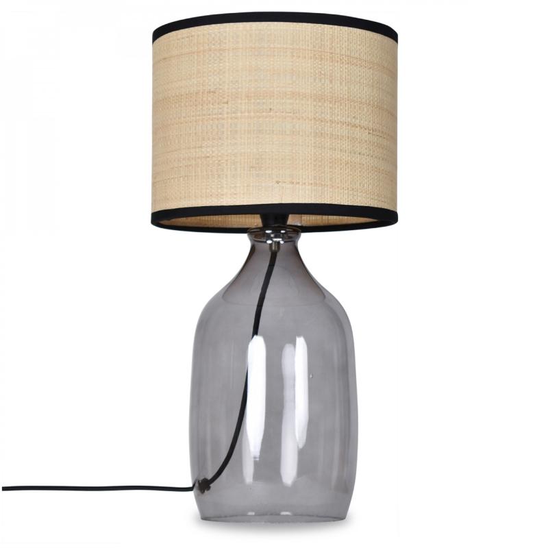 Lampe - Familiale - røgfarvet