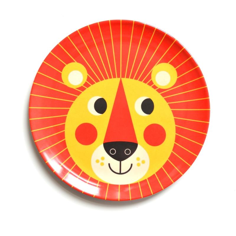 Ingela Arrhenius - Løve - flad tallerken