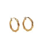 Pico - Alena small hoops - øreringe