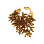 Pendulum - Coral - fingerring