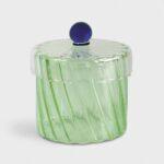 glaskrukke grøn