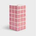 Klinkevase - Pink