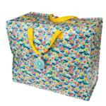 Jumbo opbevaringspose i plast - Butterfly Garden