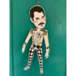 Sprællemand i karton - Freddie Mercury