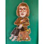 Sprællemand i karton - Log Lady