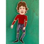 Sprællere i karton - Mick Jagger